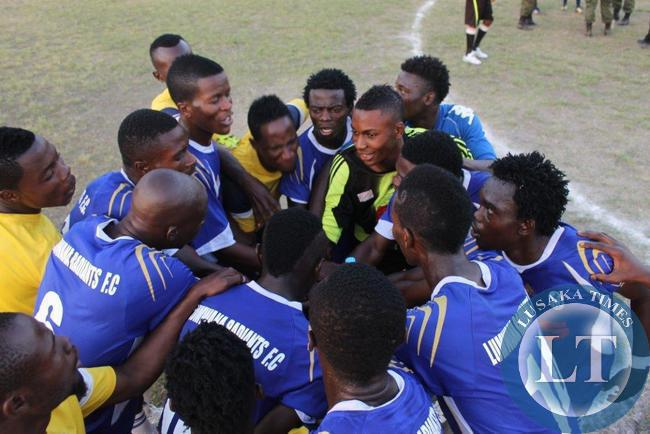 Lumwana Radiants - after a game