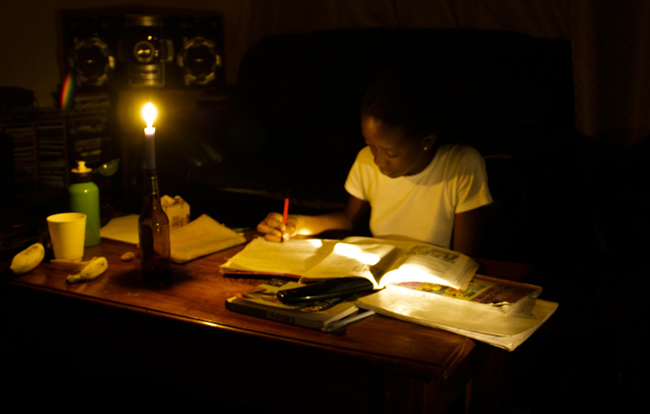 Rolling black outs of up to 8hrs in duration continue to plague Zambian