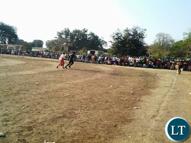 Kavulamungu Bargain Centre sports tournament