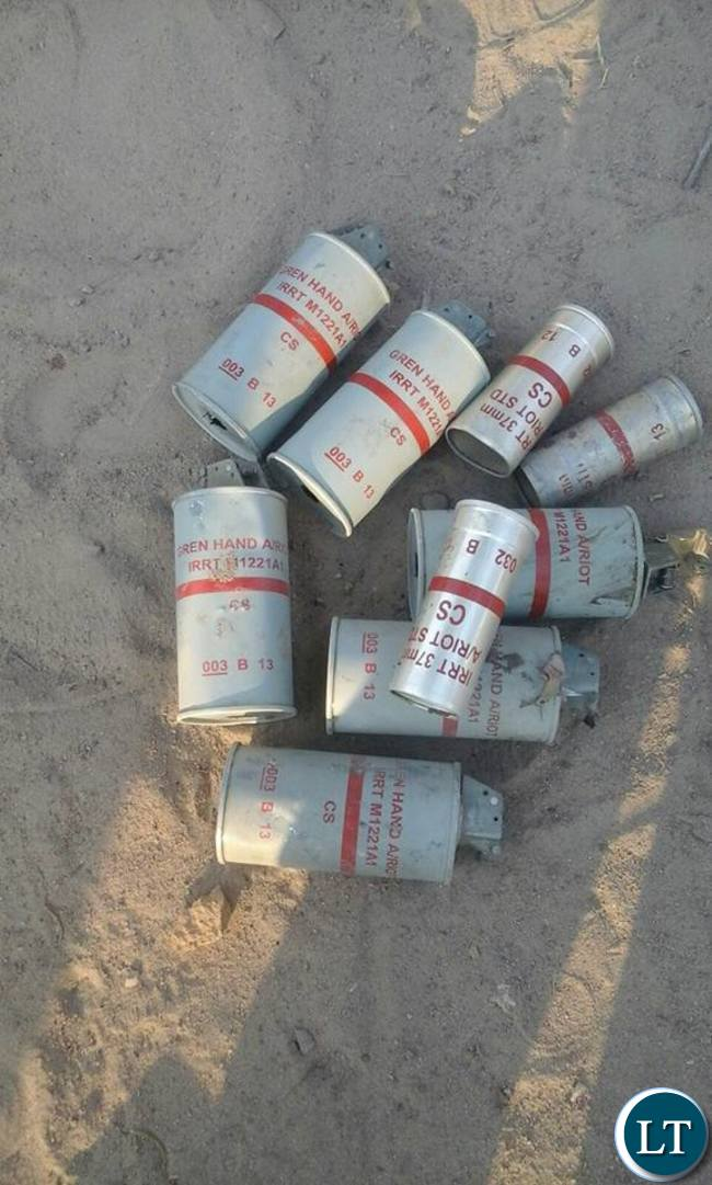 Tear Gas Canisters