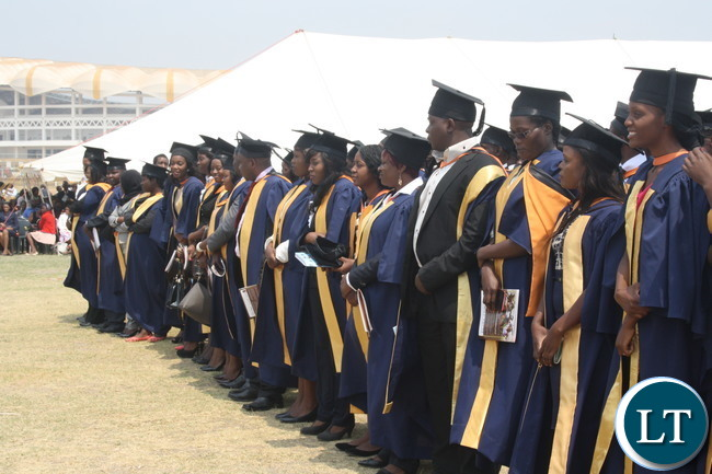 Graduands wait to receive degrees at recent ZAOU's 7th Graduation Ceremony at OYDC