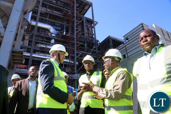 Ptresident Lungu Tour Maamba Collieries