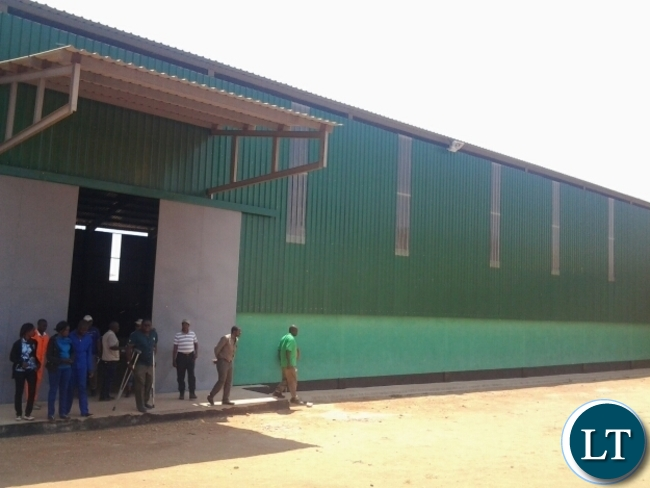 NEWLY constructed Food Reserve Agency shed at Lumezi in Lundazi with the capacity storage of 5000 metric tones