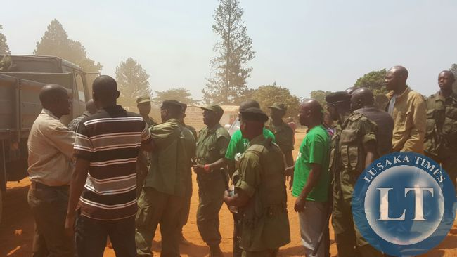 Police disrupt UPND meeting