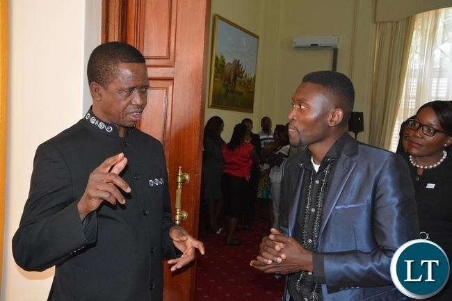 Zambia : B-Flow sings President Lungu's praises over Kanene