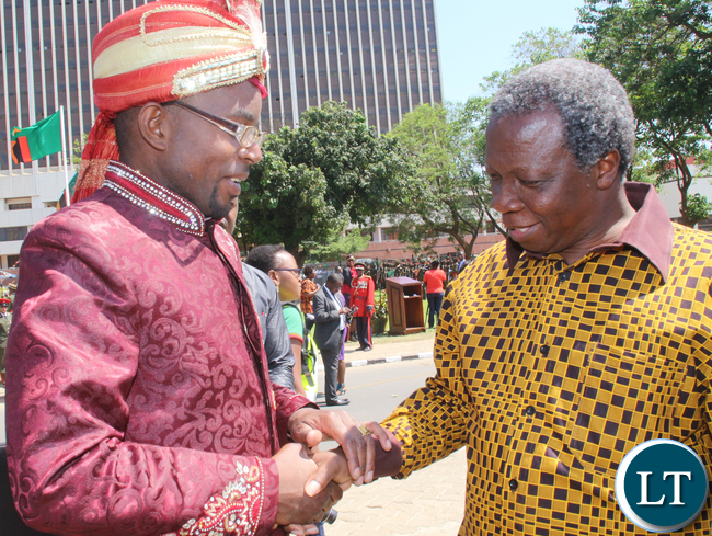 Opposition party leaders: Cosmo Mumba and Mike Mulongoti!