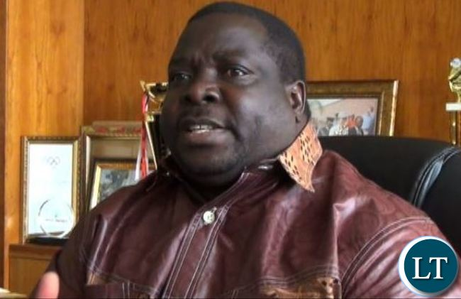 Chief Government Spokesman Chishimba Kambwili