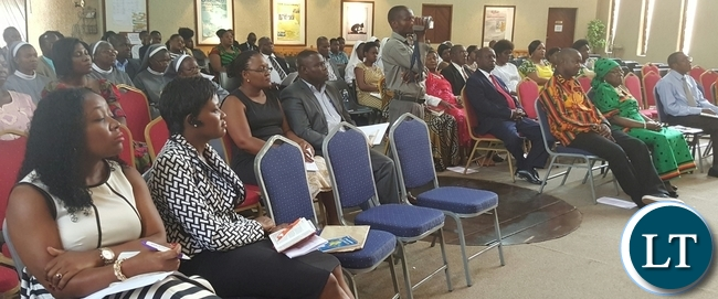 Congregants following the proceedings during the National Day of Repentance, Prayer and Fasting service at Capital City Baptist Church where Zambians living in Lilongwe, Malawi gathered. Picture Courtesy of Zambia High Commission.