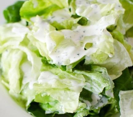 healthy caesar salad. 4