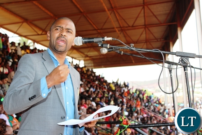 Minister of Local Government Vincent Mwale
