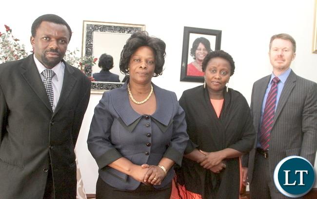 FIRST LADY ESTHER LUNGU-WORLD VISION ZAMBIA