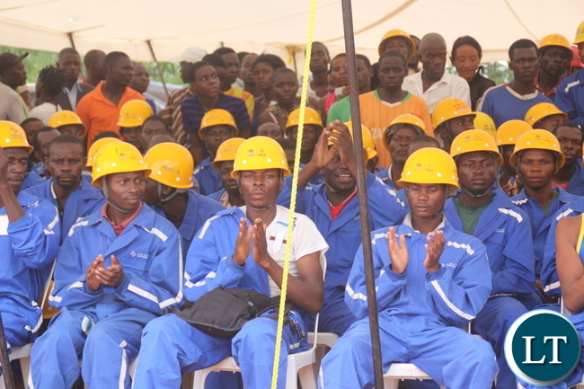 Sino Hydro workers