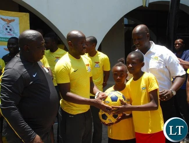 MTN Zambia and the Football Association of Zambia donated soccer balls to Nkwazi Youth and Twapia Gunners Soccer academies in Ndola