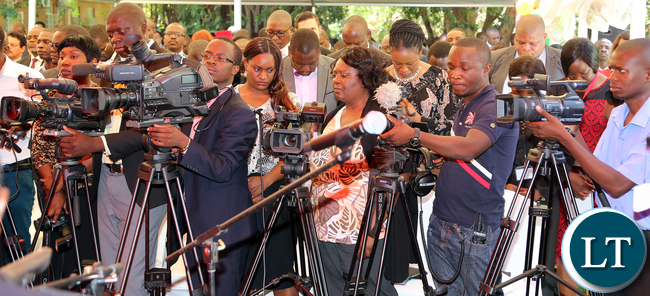 Press Conference at State house