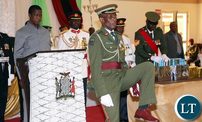 Zambia Army Major Muyunda
