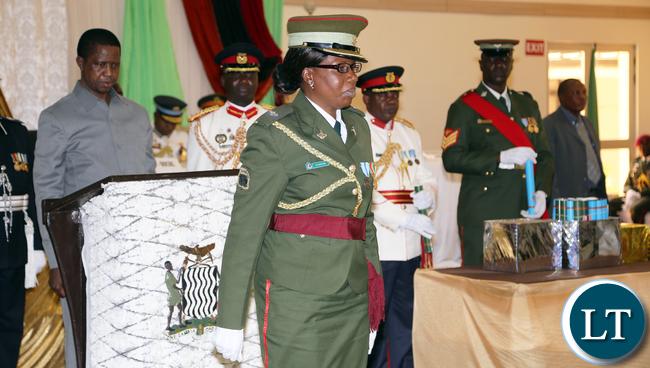 Zambia army Major Musendo
