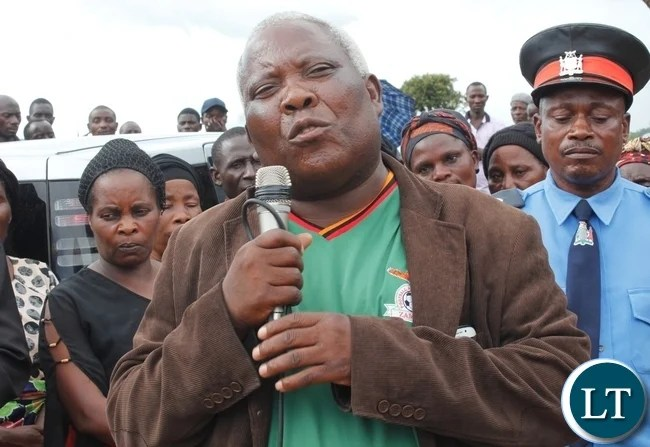 Presidential Affairs Minister Freedom Sikazwe
