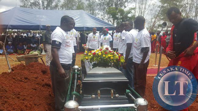 Simusamba funeral