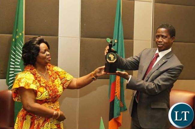 Zambia's Ambassador to Ethiopia, Susan Sikaneta