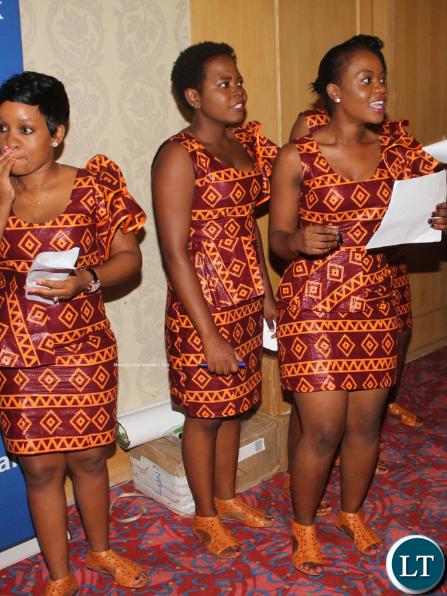Ushers at the Nc'wala Ceremony Fundraising Dinner