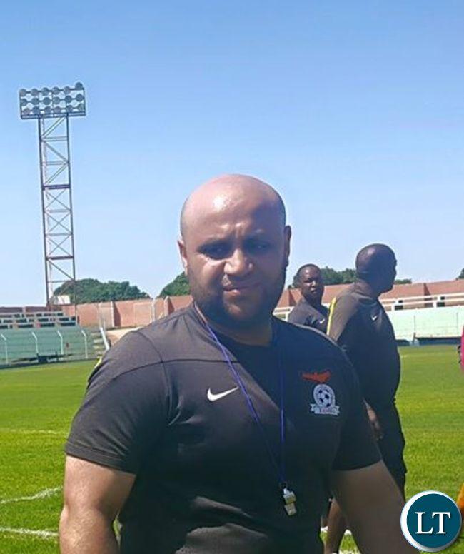 Irfan Kawri during training