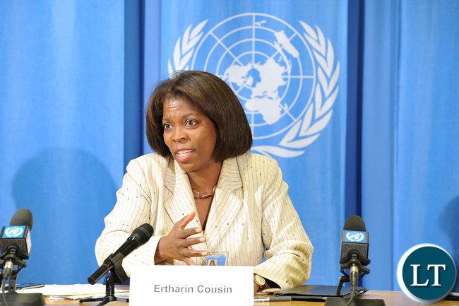 WFP Executive Director Ertharin Cousin