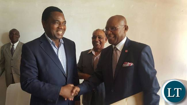 HH Welcoming back Bob Sichinga to UPND