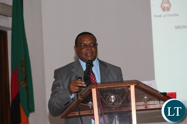 Bank of Zambia Governor Denny Kalyalya