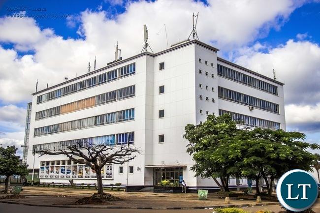 ZAMPOST Post Office Lusaka
