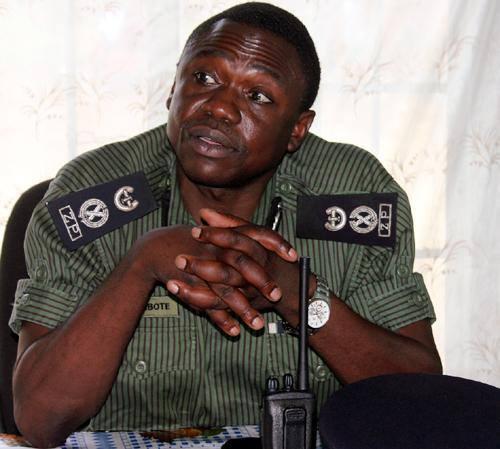 Deputy Inspector General of Police for Administration, Eugene Sibote
