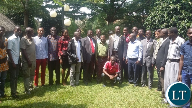 Meeting for Political Parties organised by the Young African Leaders Initiative (YALI)