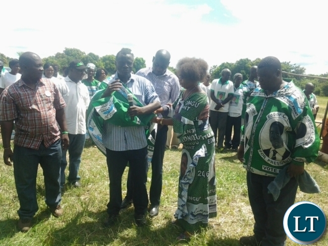UPND Chairman for Mines Defects to PF