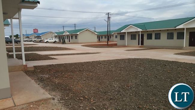 Some of the Houses constructed for Police Officers