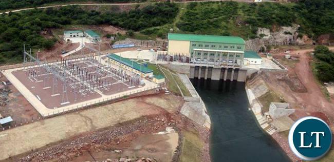 Itezhi Tezhi hydro Electric Power Station