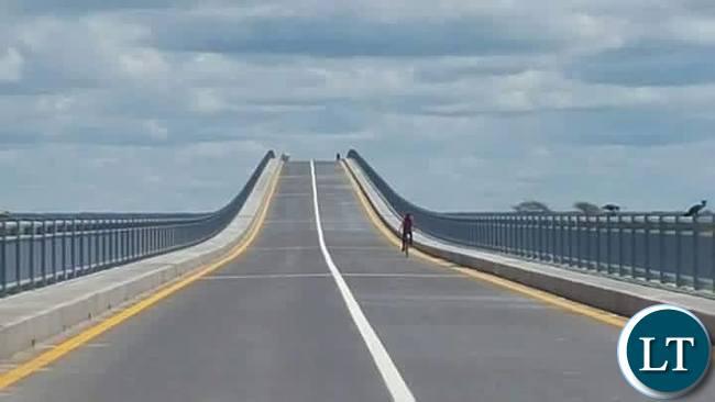 The Completed Mongu-Kalabo Road