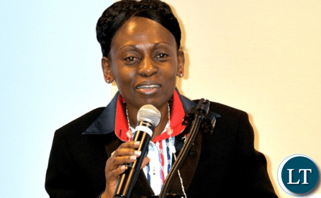Commonwealth Deputy Secretary General (political and Human Rights) Dr. Josephine Ojiambo