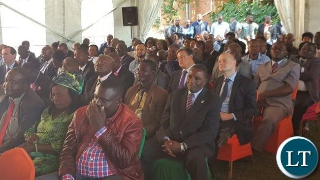 Part of the delegates that attended the news conference at State House