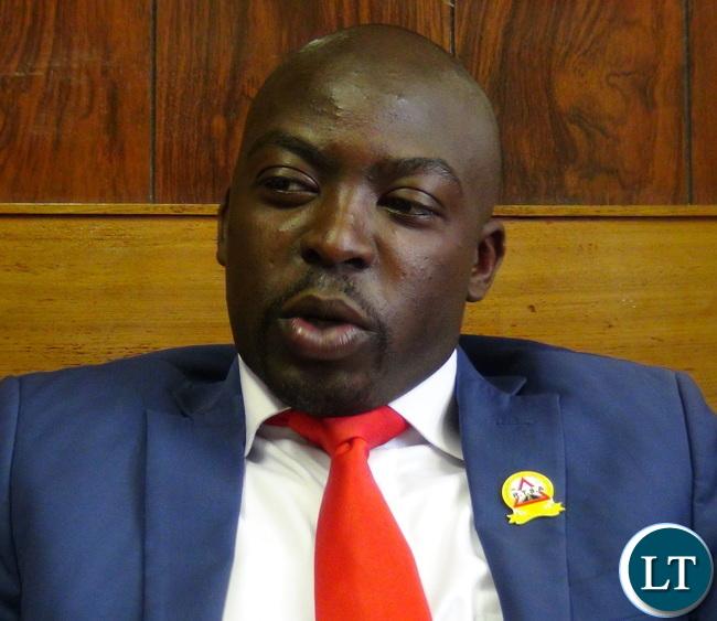 RTSA Head of Public Relations Mr Fredrick Mubanga