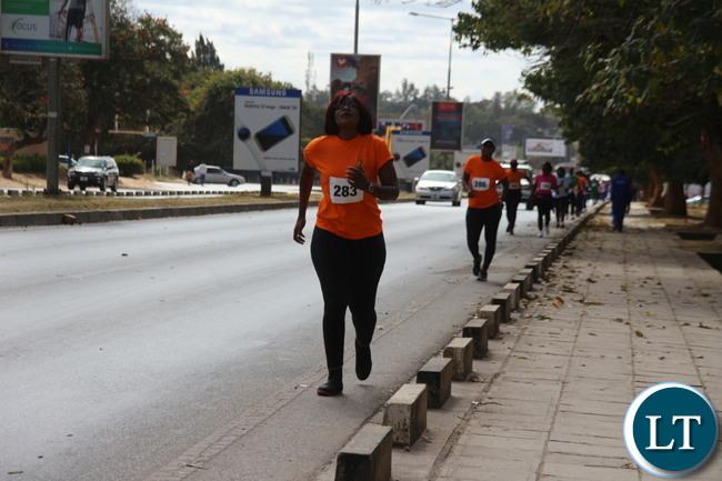 The Walk race