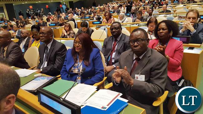 Zambia Health Minister Dr Joseph Kasonde