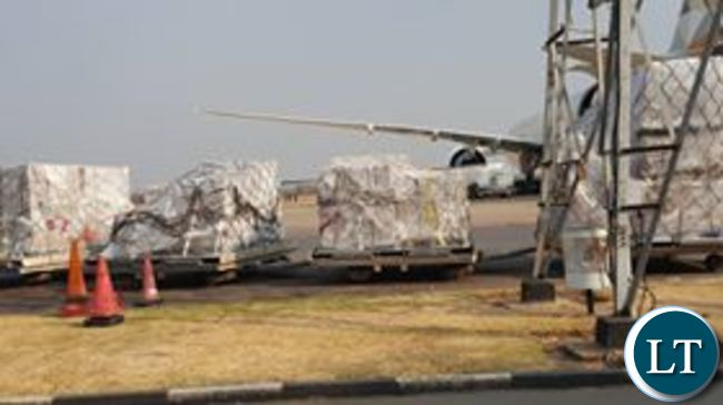 Offloading of Ballot papers at KKIA