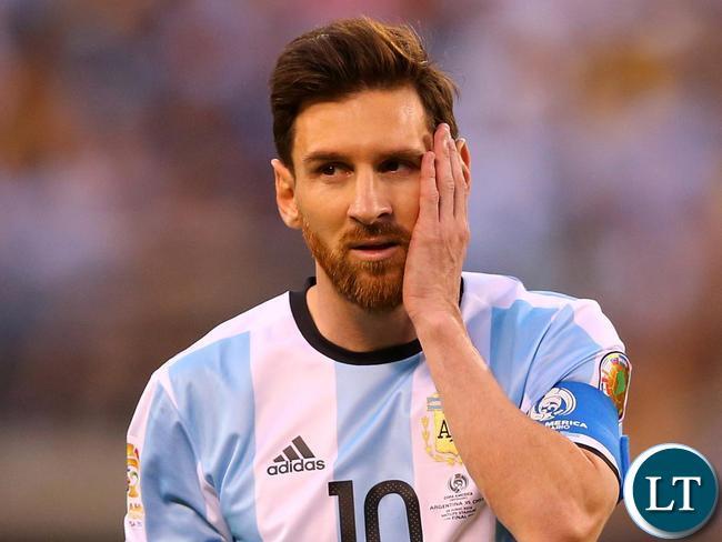 Barcelona and former Argentina football superstar Lionel Messi