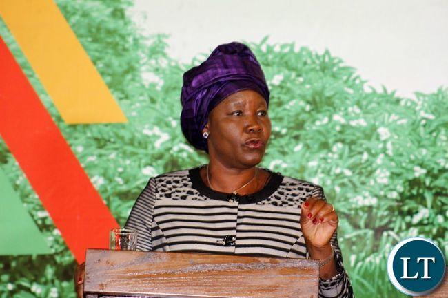 FDD Presidential Candidate Edith Nawakwi