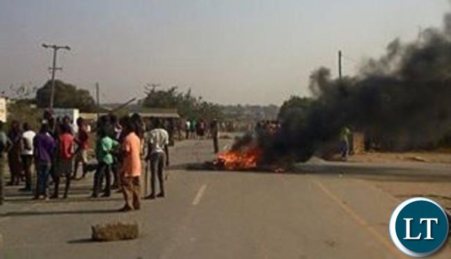 Riots in Monze