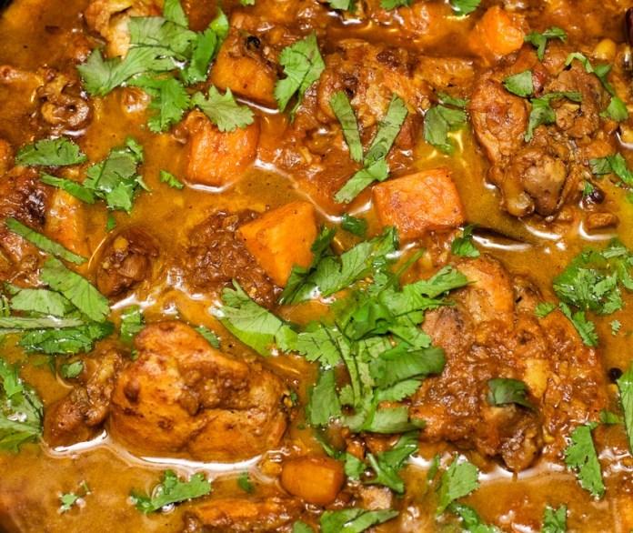 chicken an sweet potato