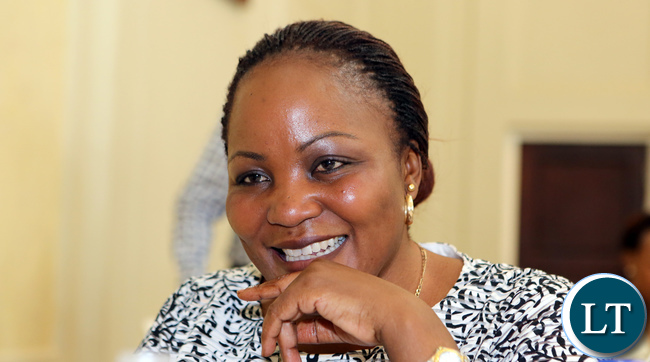 Lusaka City Deputy Mayor Chilando Chitangala
