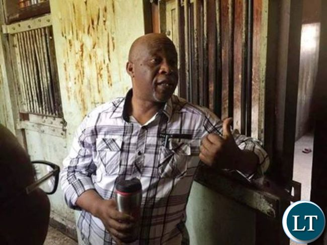 Dr Nevers Mumba Inside a Police Cell at Woodlands Police Station