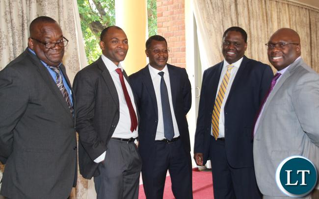 Some Permant Secretaries that were present