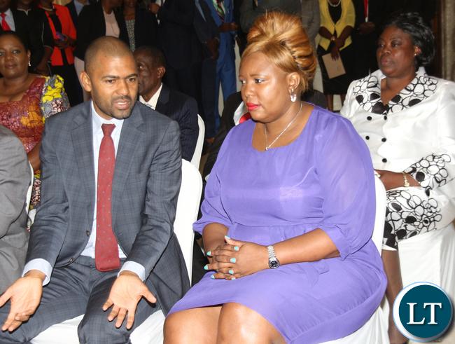 Hon Vincent Mwale and Hon Dora Siliya,