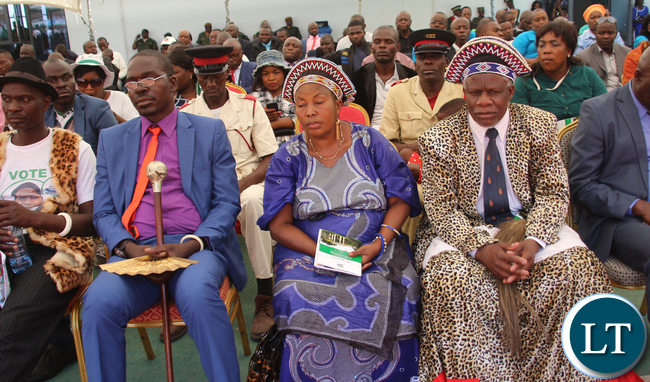 Some traditional leaders who attended the Inauguration ceremony